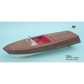 Aero-Naut Classic Sport Radio Control Power Boat Wooden Kit