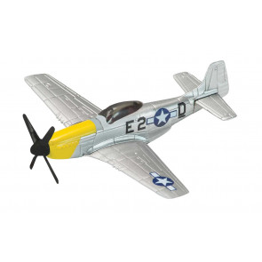 P-51 Mustang WW2 Fighter - Diecast Model Plane Corgi Showcase CS90627