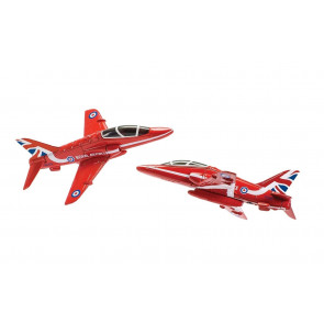 RAF Red Arrows Synchro Pair Diecast Model Aeroplane Corgi Aviation Showcase CS90687