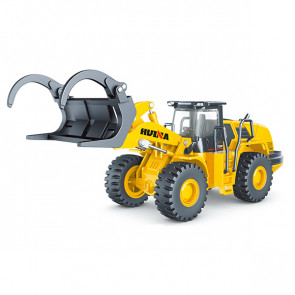 Huina 1/50 Diecast Fork Truck Loader Static Model Construction Vehicle
