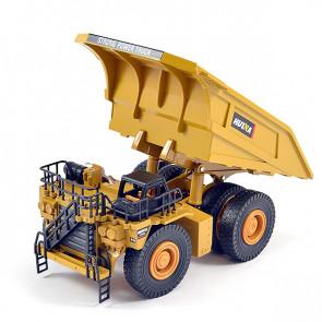 Huina 1/40 Diecast Dump Truck Static Model Construction Vehicle