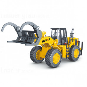 Huina 1/40 Diecast Fork Truck Loader Static Model Construction Vehicle