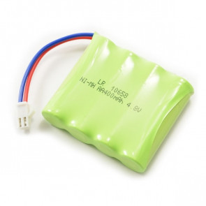 HuiNa Spare 4.8V 400mAH 4 Cell AA NiMH Battery with White SM Connector