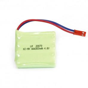 Huina CY1332/33 Battery 4.8v 300mah NIMH Red Jst Plug