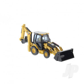1:50 Cat 432E Backhoe Loader, Diecast Scale Construction Vehicle