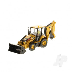 1:50 Cat 420F2 IT Backhoe Loader, Diecast Scale Construction Vehicle