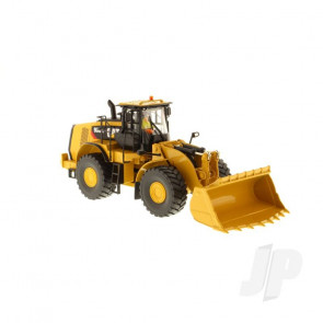 1:50 Cat 980K Wheel Loader - Rock Configuration, Diecast Scale Construction Vehicle