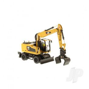 1:50 Cat M318F Wheeled Excavator, Diecast Scale Construction Vehicle