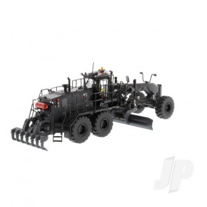 1:50 Cat 18M3 Motor Grader Special Black Finish - Limited Edition, Diecast Scale Construction Vehicle