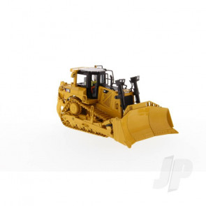CAT D8T Track-Type Tractor with 8U Blade, 1:50 Scale Diecast Construction Vehicle