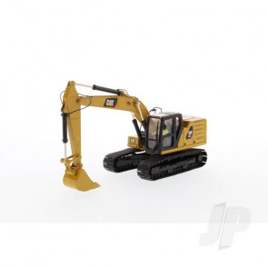 1:50 Cat 320 Hydraulic Excavator, Diecast Scale Construction Vehicle