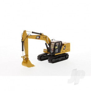 1:50 Cat 320 GC Hydraulic Excavator, Diecast Scale Construction Vehicle