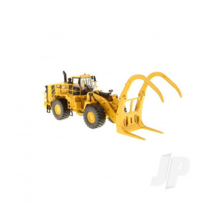 1:50 Cat 988K Wheel Loader with grapple, Diecast Scale Construction Vehicle