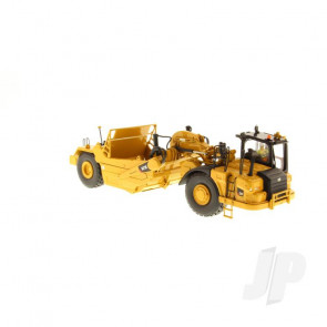 1:50 Cat 621K Wheel Tractor-Scraper, Diecast Scale Construction Vehicle