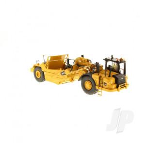 1:50 Cat 621K Wheel Tractor-Scraper, Diecast Scale Construction Vehicle