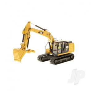 1:50 Cat 323F Hydraulic Excavator, Diecast Scale Construction Vehicle