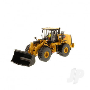 1:50 Cat 966M Wheel Loader, Diecast Scale Construction Vehicle
