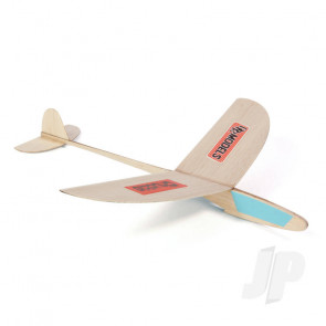 DPR Chuckie Glider Freeflight Balsa Model Aircraft Kit