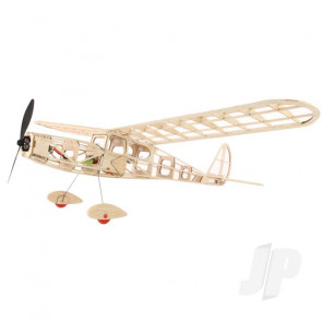 DPR Hyper Cub Electric R/C Balsa Model Aircraft Kit