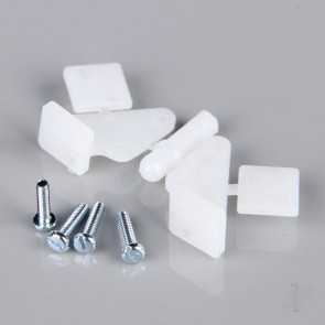 Dubro 1/2 A Control Horns (2 pack) for RC Model Planes