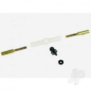 Dubro DB183 Aileron Connector and Dual Take Off Ball Link Hardware for RC Model Aircraft