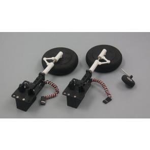 Dynam F4U Corsair Electronic Retract Landing Set with Wheels and Tailwheel