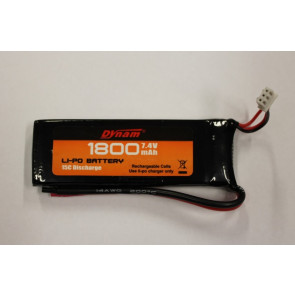 7.4V 1800mAH LiPo Battery Pack for Dynam Sonic 185 Glider