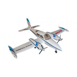 Dynam Grand Cruiser Cessna 310 V2 1280mm Retracts PNP no Tx/Rx/Bat