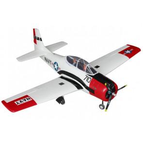 Dynam T28 Trojan ARTF 1270mm, Red, Retracts no Tx/Rx/Bat - Superb Scale Flyer!