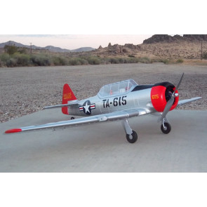 Dynam AT-6 Texan ARTF 1370mm with Retracts no Tx/Rx/Bat - Superb Scale Flyer!