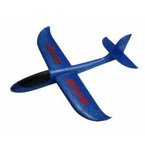 Mini Hawk Sky 500mm EPP Hand Launch Foam Chuck Glider Blue - Great Fun!