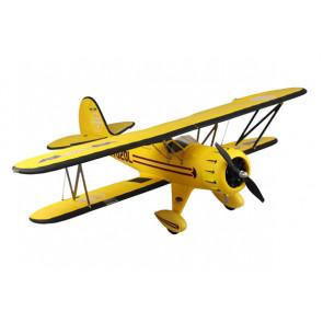 Dynam Waco F Series RTF Yellow Bi-Plane PnP no Tx/Rx/Bat/Chg
