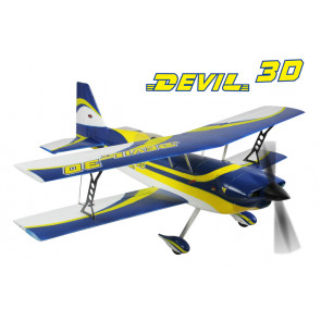 Dynam Devil 3D Aerobatic RC Electric Biplane (1016mm) ARTF (no Tx/Rx/Bat)