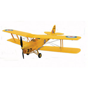 Dynam Tiger Moth ARTF Bi-Plane Yellow PNP no Tx/Rx/Bat Superb Scale Flyer!
