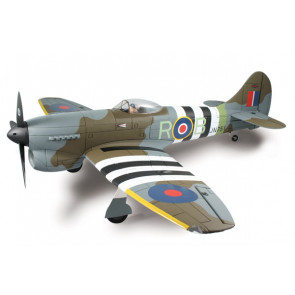 Dynam Hawker Tempest V 1250mm Retracts ARTF no Tx/Rx/Bat/Chg