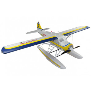 Dynam DHC-2 Beaver 1500mm no Tx/Rx/Bat/Chg - Includes Optional Floats!