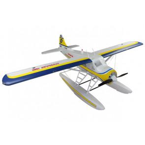 Dynam DHC-2 Beaver Electric RC Plane (1500mm) ARTF (no Tx/Rx/Bat) w/ Floats!
