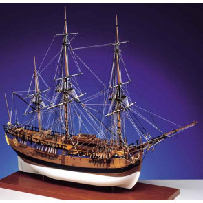 Caldercraft HM Bark Endeavour 1768 Wooden Kit 1:64 Scale - Cpt. James Cook