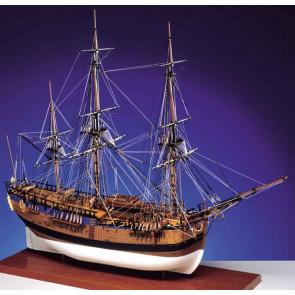 Caldercraft HM Bark Endeavour 1768 Wooden Kit 1:64 Scale - Cpt. James Cook