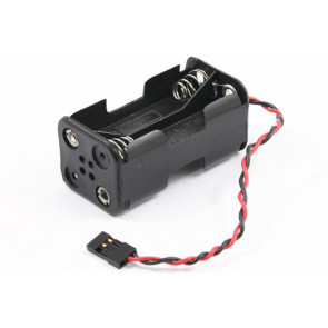 4 AA Receiver Battery Case Box with Futaba Plug for Radio Control Models