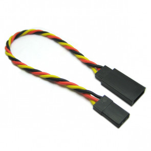 Etronix 10cm 22Awg Jr Twisted Extension Wire