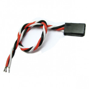 Etronix 15cm 22Awg Futaba Twisted Servo Wire