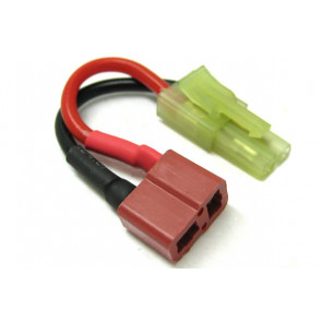 Etronix Male Micro Tamiya to Female Deans Adaptor Cable ET0820