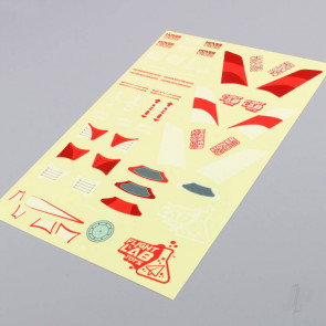 Flight Lab Toys HoverCross Decal Sheet (Red)