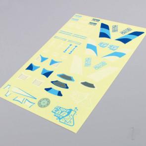 Flight Lab Toys HoverCross Decal Sheet (Blue)