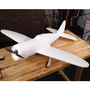 Flite Test P-47 Master Series Speed Build Kit (1206mm)   RC Maker Foam Model Aircraft