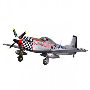 FMS 800mm P-51d Big Beautiful Doll Artf V2 W/Reflex Gyro