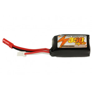 Spare 7.4v 350mAH  Battery Pack for FMS 800 Series Range of Gliders