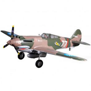 FMS 1400mm P-40b Super Scale Artf W/O Tx/Rx/Batt