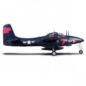 FMS 1700mm F7f Tigercat Blue Artf W/O Tx/Rx/Batt W/Reflex